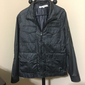 Kenneth Cole Black Utility Jacket